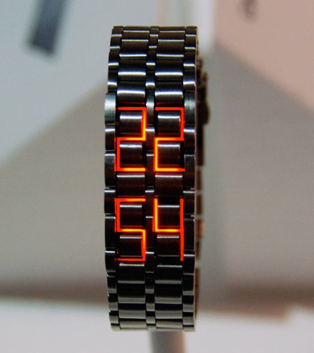 Faceless LED Watch 1