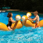 Inflatable Logs Jousting Set 7