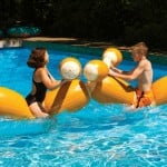 Inflatable Logs Jousting Set