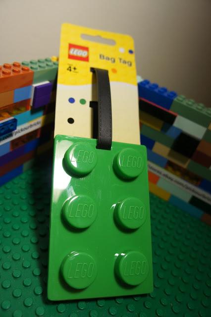 LEGO Luggage Tag 1