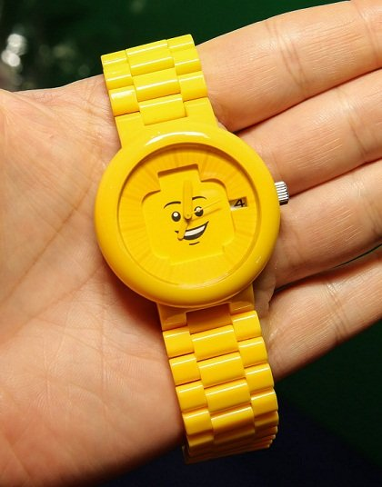 LEGO Yellow Adult Watch 1