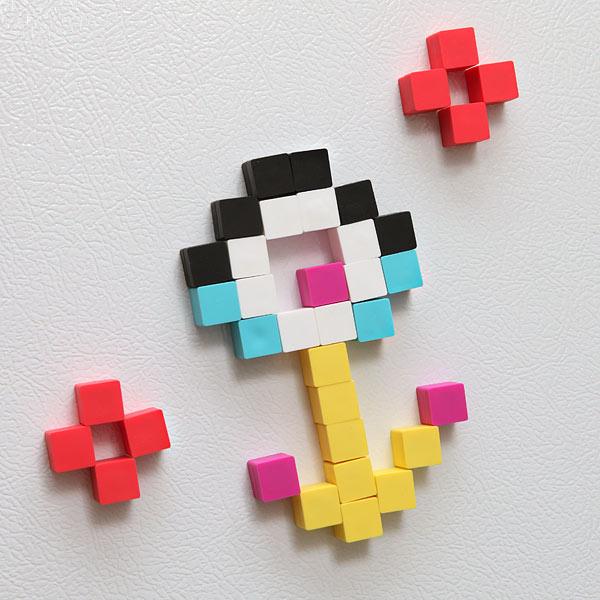Magnetic Pixel Cubes 1