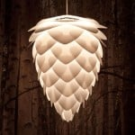 Pine Cone Ceiling Light 2