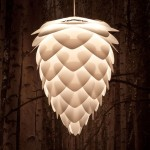 Pine Cone Ceiling Light 8