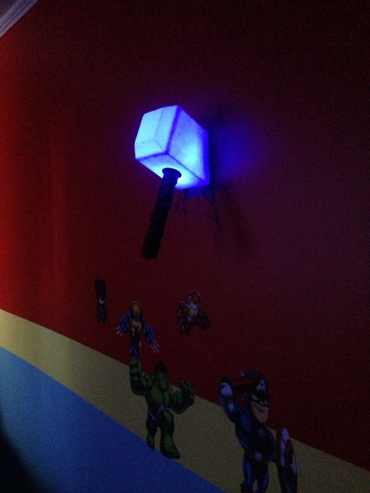 Thor's Hammer Night Light 1