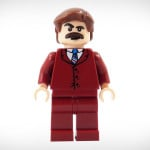 Anchorman LEGO Minifigure