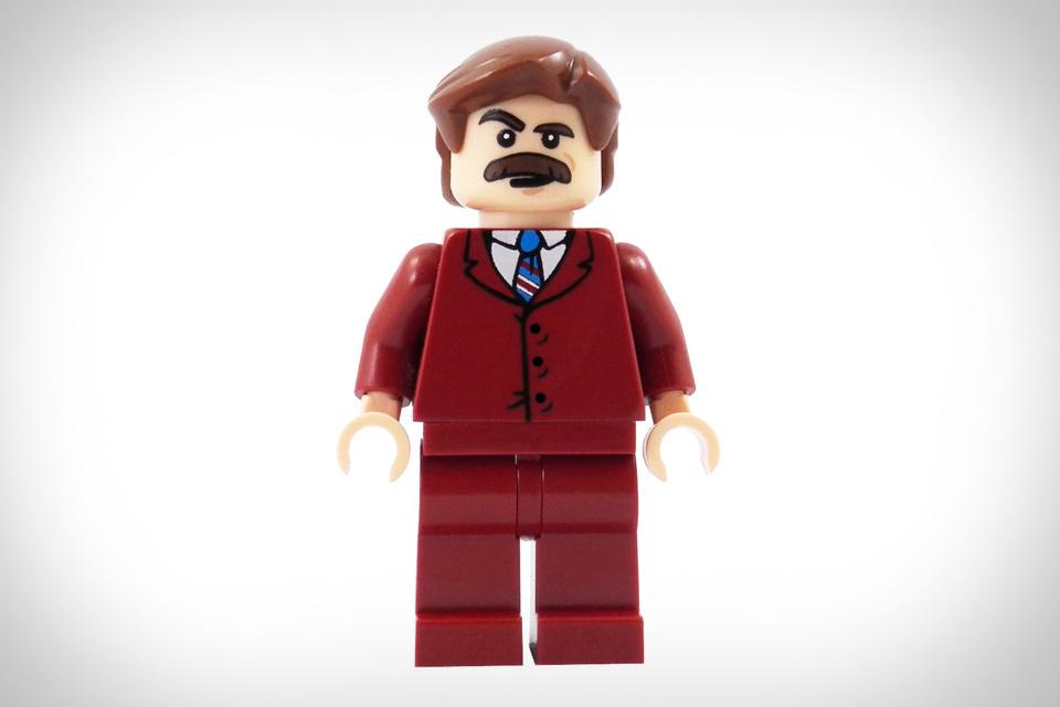 Anchorman LEGO Minifigure