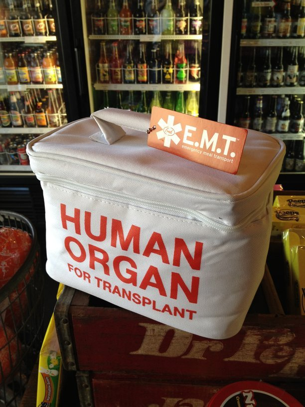 Human Organ Transplant Lunch Box