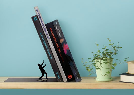 Leaning Book End