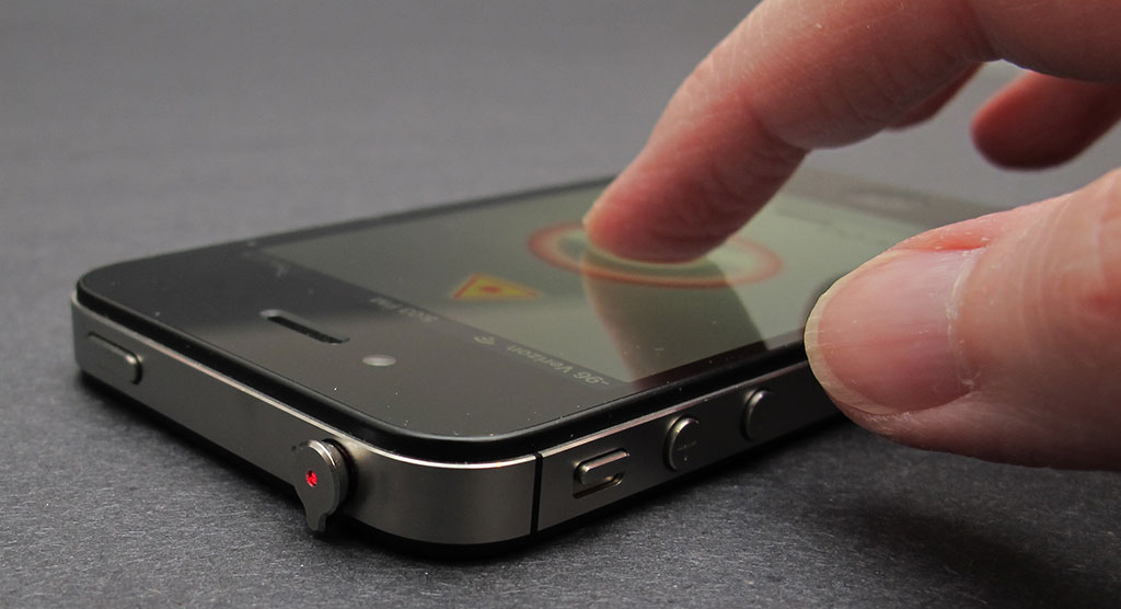 iPhone Laser Pointer
