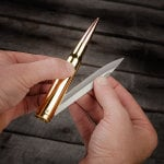50 Caliber Bullet Folding Knife