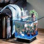 Aquarium End Table