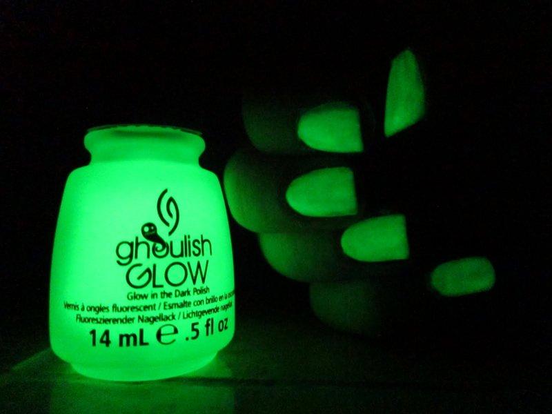 Glow-In-The-Dark Nail Polish