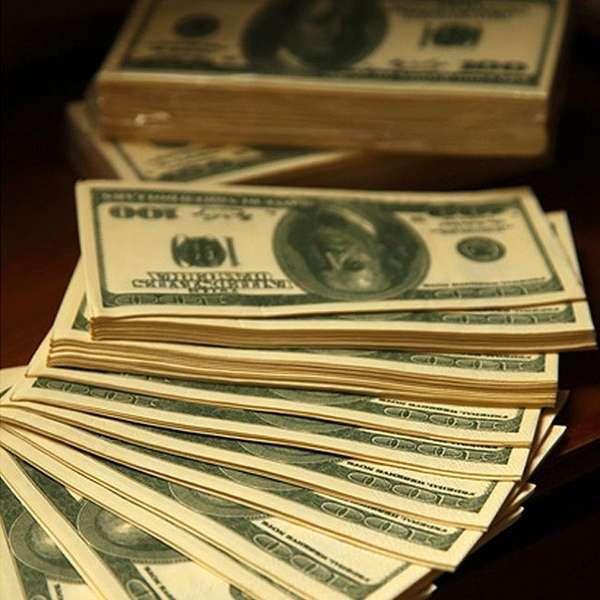 Hundred Dollar Bill Tissues