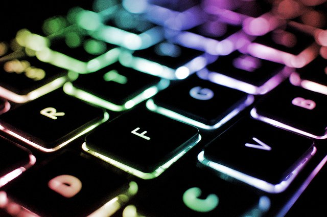 Rainbow Backlit Keyboard