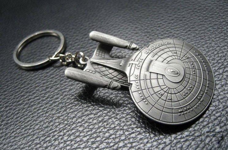 USS Enterprise Key Chain
