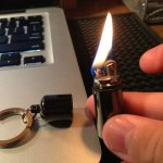 Waterproof Lighter Keychain
