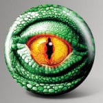 Lizard Eye Bowling Ball
