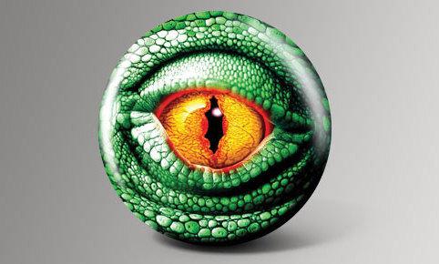 Lizard Eye Bowling Ball