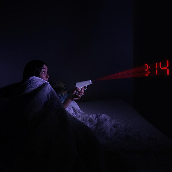Pistol Alarm Clock