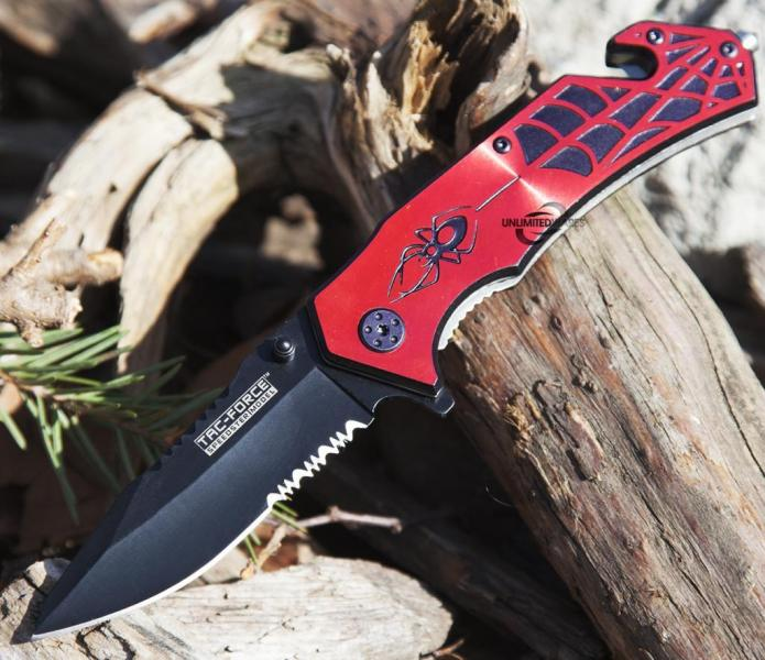 Spider Tactical Knife