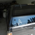 Star Trek Federation Decal