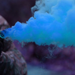 Colorful Smoke Grenade