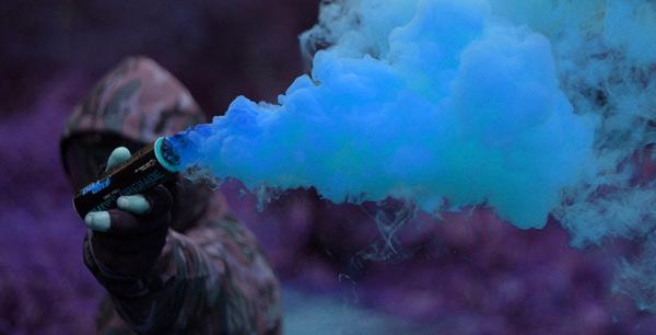 Colorful Smoke Grenade