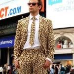 Leopard Skin Suit