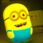 Squishy Minion Night Light