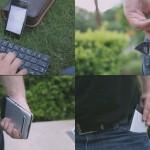 Wireless Foldable Keyboard