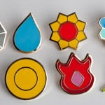 Pokemon Generation 1 Gym Badges