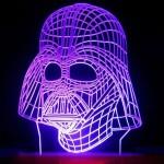 3D Darth Vader Lamp