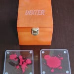 Bloody Dexter Coasters