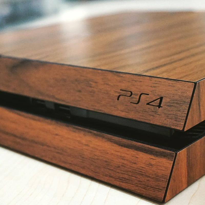 Dark Wood PS4 Skin