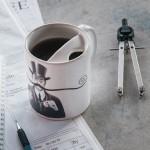 Mustache Protector Mug