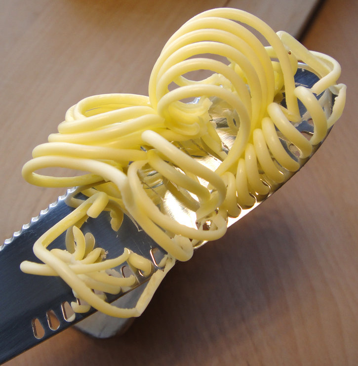 Butter Curler Knife
