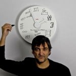 Dry Erase Wall Clock