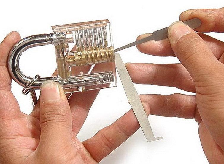 Lock Pick Practice Set