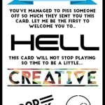 Prank Musical Card