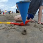 Wet Sand Funnel