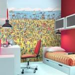 Where's Waldo Wall Mural