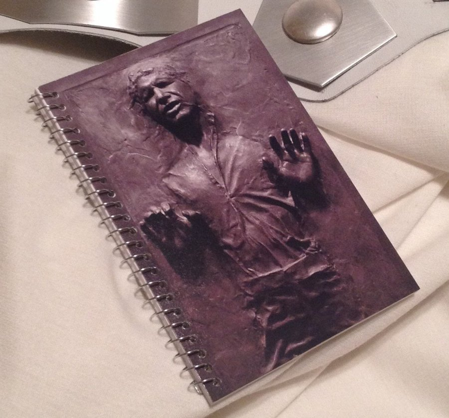 Han Solo Spiral Notebook