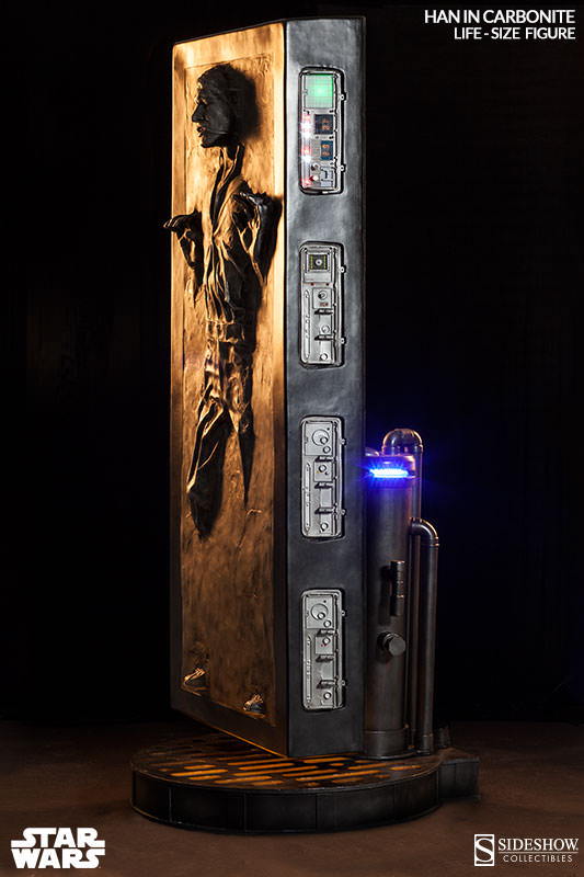 Han Solo Life-Size Replica