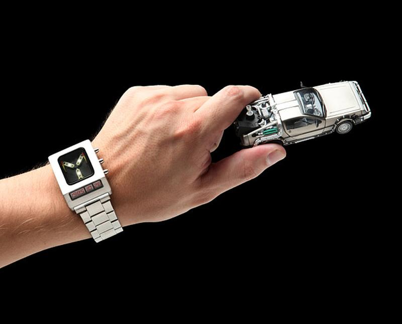 Flux Capacitor Watch