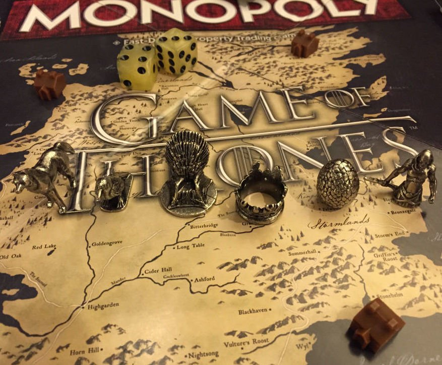 game of thrones monopoly. Black Bedroom Furniture Sets. Home Design Ideas