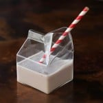 Glass Milk Carton