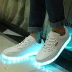 Rechargeable LED Shoes