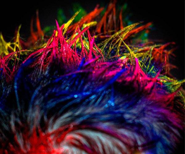 Glowing Hair Gel