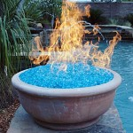 Reflective Fire Glass